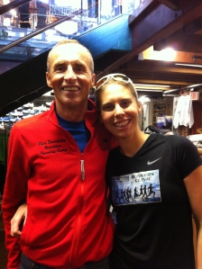 Dick Beardsley and I, Boston Marathon weekend